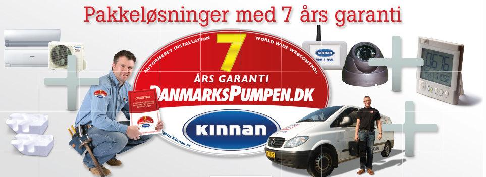 varmepumpe Danmarkspumpen med 7 års garanti